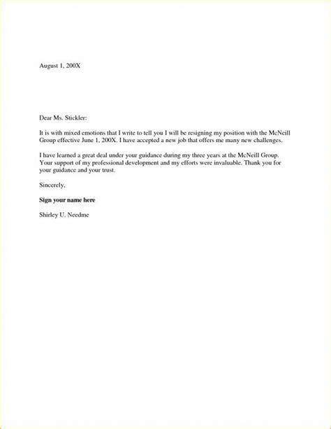 two weeks notice letter two week notice letter template business