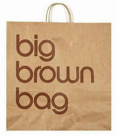 Brown Vignelli Massimo Bag Bloomingdale Paper Bags