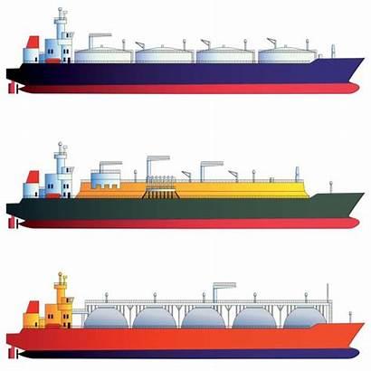 Tanker Lng Clip Vector Oil Illustration Illustrations
