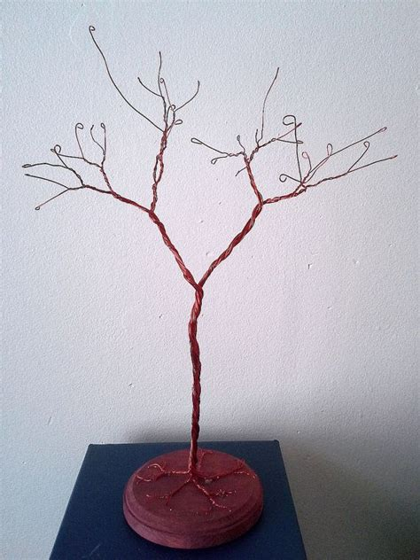 Wire JEWELRY TREE STAND Display / Optional by