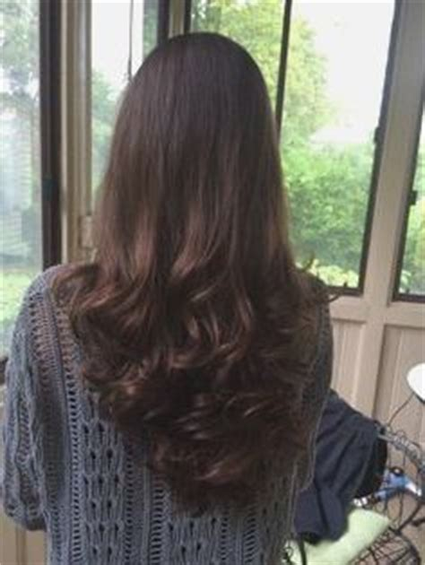 layer cut hairstyle  long hair  view victoria