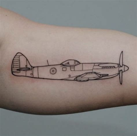 amazing airplane tattoos  people  love  travel