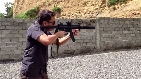 suppressed mpk pdw  target board youtube