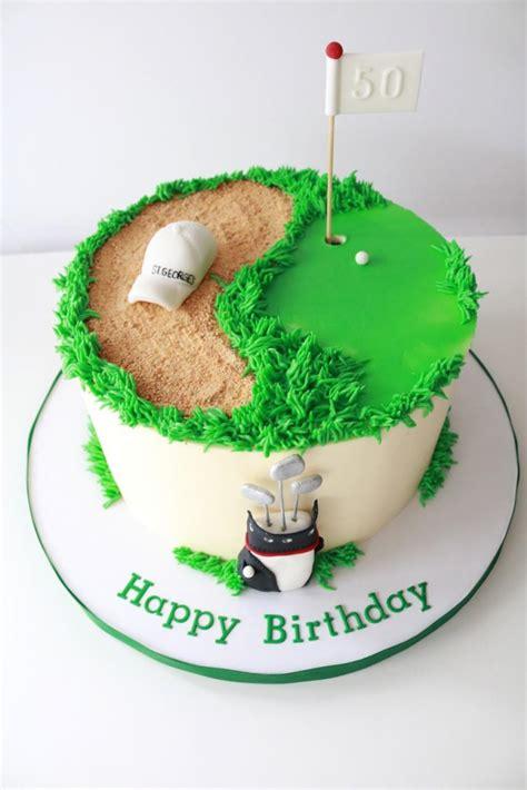 birthday cakes golfers