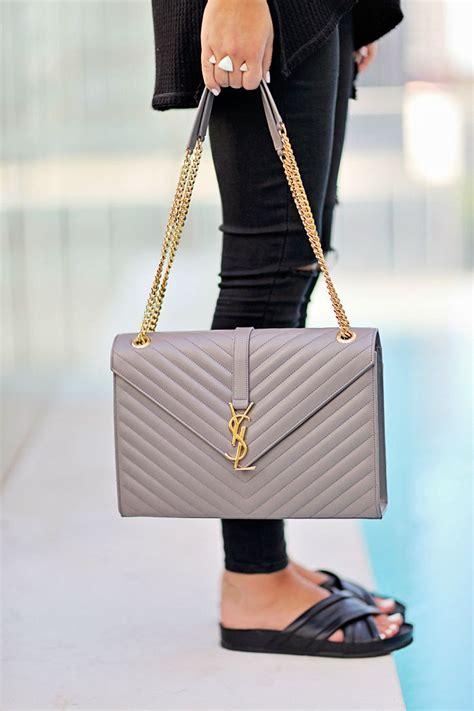 saint laurent monogramme quilted leather shoulder bag bags