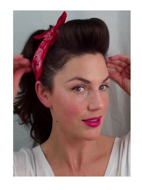 38 best pin up hairstyles images on pinterest rockabilly