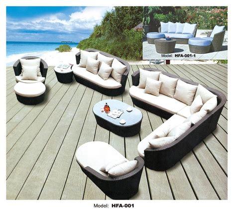 large size outdoor sofa set new design garden furniture