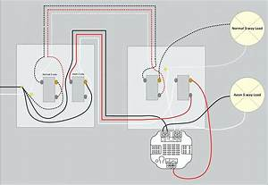 Clipsal 2 Gang Switch Wiring Diagram