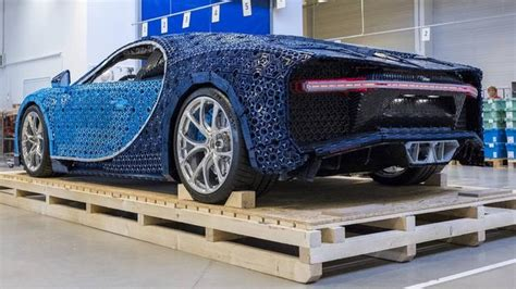 With lego® technic we like to state that you build for real. Full-size Lego Bugatti Chiron is driveable!   IOL Motoring