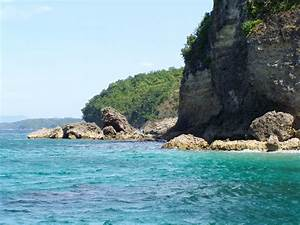 Seeside Cliffs Near Puerto Galera  Philippines    Photos