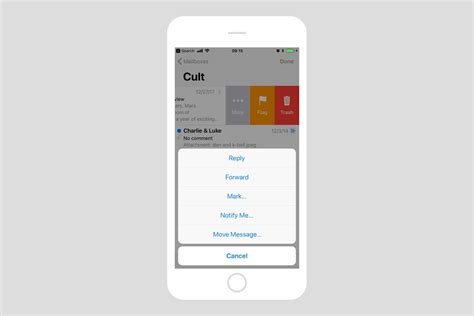 iphone custom gestures how to customize mail swipe gestures on iphone cult of mac