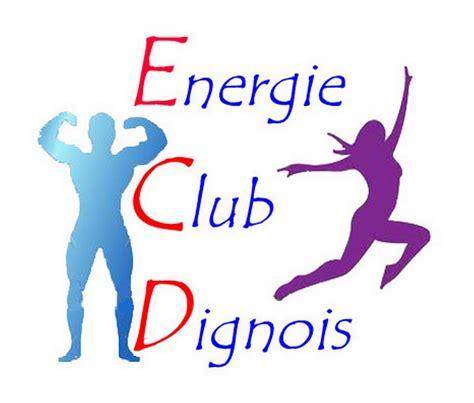 logo salle de sport energie club dignois