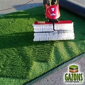 Aspirateur Pour Gazon Synthétique : balai brosse moteur lectrique pour l 39 entretien de pelouse artificielle ~ Farleysfitness.com Idées de Décoration