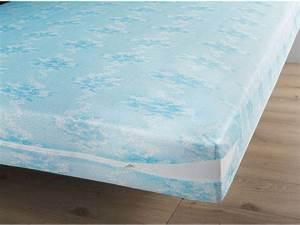 Housse De Matelas 160x200 : prot ge matelas 160x200 cm coloris bleu vente de prot ge ~ Dailycaller-alerts.com Idées de Décoration
