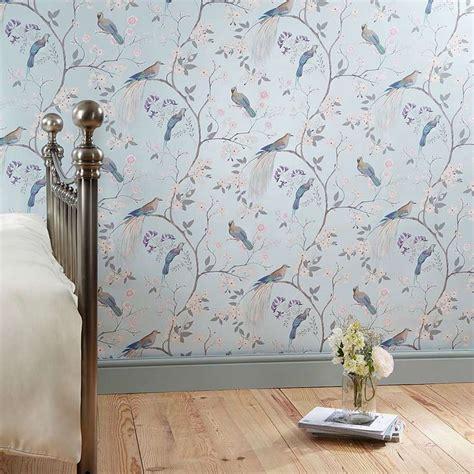 Bedroom Pictures Dunelm by Dorma Duck Egg Maiya Wallpaper Dunelm Bedroom
