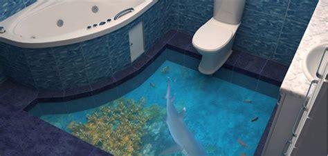 cuisine salle de bains 3d du plancher 3d dans la salle de bains déco salle de bains