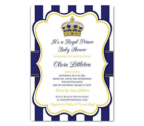 royal prince baby shower invitation royal prince baby shower invitations royal prince baby shower invitations with stylish ornaments