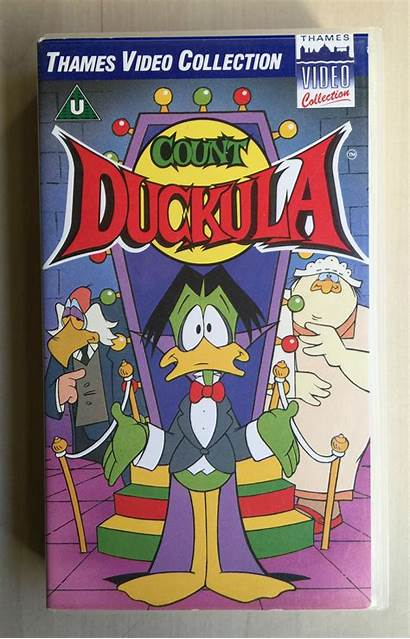 Duckula Count Wikia Vhs International Wiki