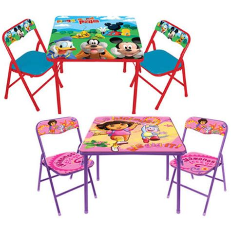 toddler activity table chairs set your choice of