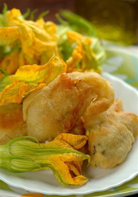 pastella per friggere fiori di zucca ricetta fiori di zucca fritti fidelity cucina