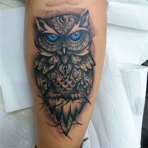 owl tattoos  men improb