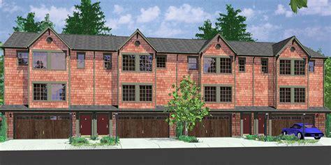 triplex house plans  plex plans quadplex plans
