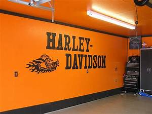 Harley Davidson Garage Ideas At Home Design Concept Ideas
