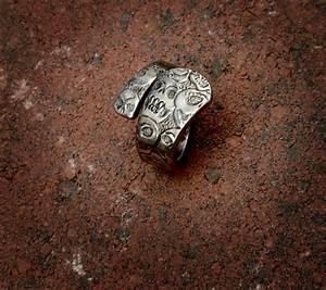 Calavera  Skull  Spoon Ring