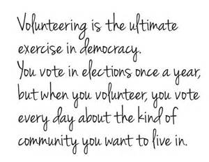 Community Volunteer Quotes