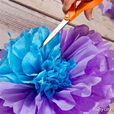 Tissue Paper Flowers How To Party City For School