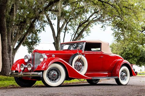 1934 Packard Coupe Roadster   Orlando Classic Cars