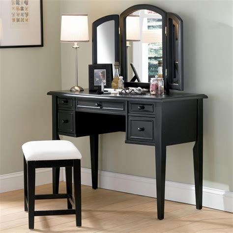Cheap Bathroom Vanity Small Makeup Set Globorank Black Top