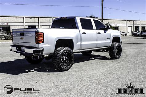 car chevrolet silverado   fuel  piece maverick  wheels california wheels