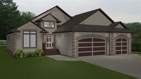 house plans   car garage lake house plans bungalow
