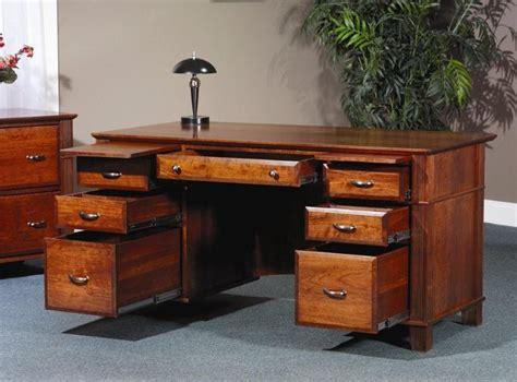 long desks for sale amish arlington executive desk