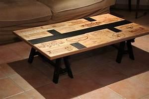 Table Basse Caisse Bois : recyclez vos vieilles caisses de vin avec youpijob blog ~ Nature-et-papiers.com Idées de Décoration