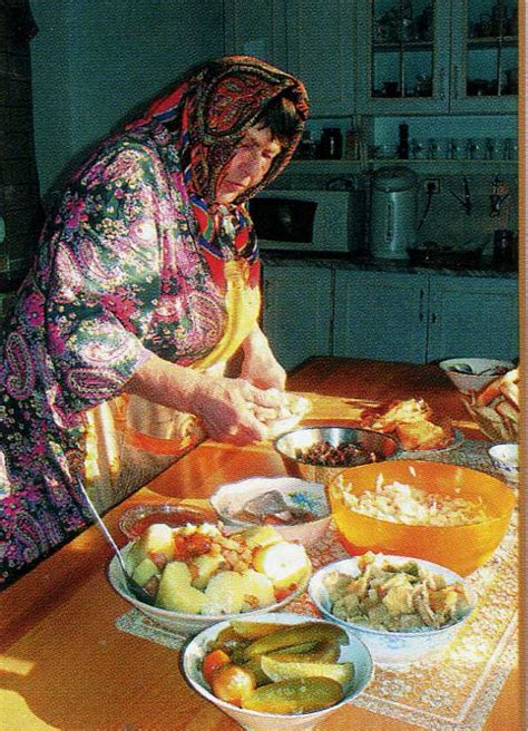 Culture  Russian Food