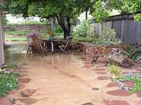 trending garden patio ideas design Outdoor Patio Ideas On A Budget Design Also Concrete ...