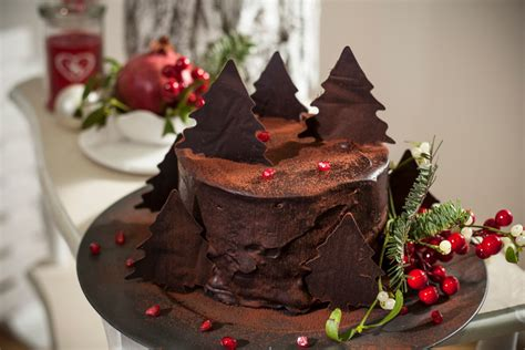 decorate a chocolate cake like a pro with these festive
