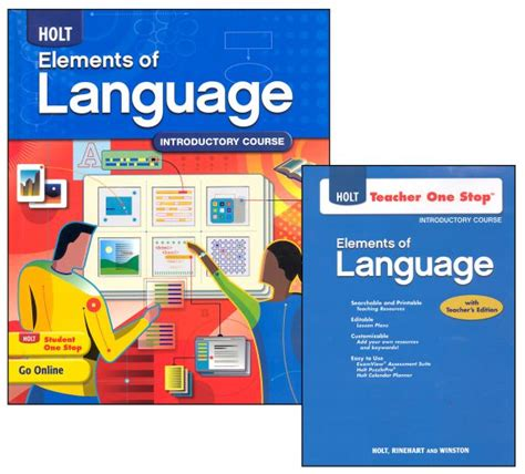 Holt Elements Of Language Homeschool Package Grade 6 (introductory Course) (047822) Details