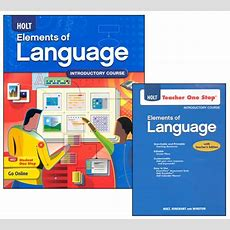 Holt Elements Of Language Homeschool Package Grade 6 (introductory Course) (047822) Images