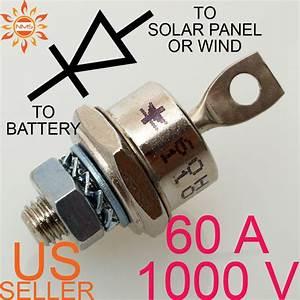60a 1000v Blocking Diode Wind Generator Solar Panel 60 Amp