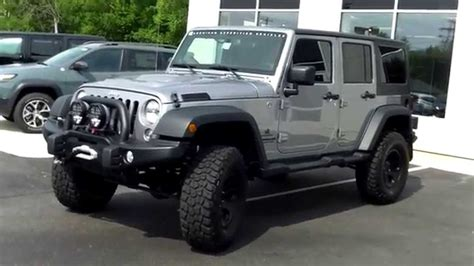 used jeep rubicon for sale used jeep wrangler unlimited aev jk350 saco maine portland