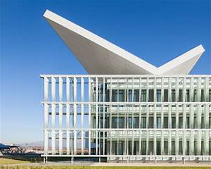 Helios Solar Research Center Topped With Photovoltaic Panels