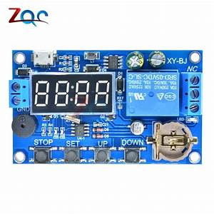 Dc 5v Real Time Timing Delay Timer Relay Module Switch Control Clock Synchronization Multiple