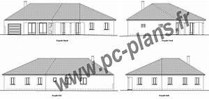 Plan Facade Maison : pc plans catalogue nos plans de maison ~ Melissatoandfro.com Idées de Décoration