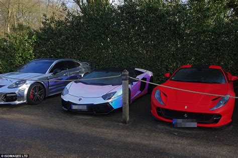 Aubameyang has imported part of his car collection worth £ ...