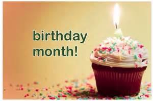 My Birthday Month