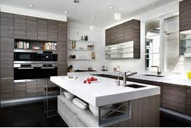 Agreeable Kitchen Cabinets Trends Decoration Ideas Modern White And Brown Colored Kitchen Design