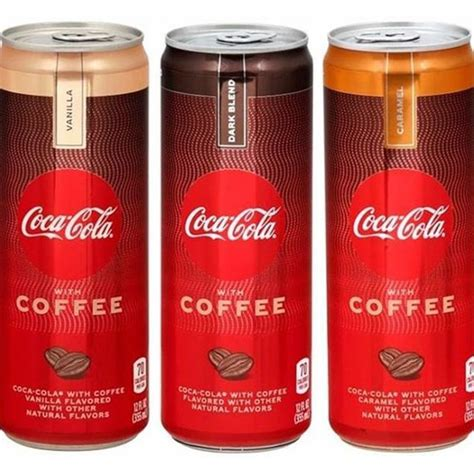 Coffee has different levels of caffeine depending on the coffee (except decaf), but ounce for ounce it has between 3 to 5 times the caffeine that coke has. COCA-COLA WITH COFFEE IS EXPECTED TO HIT SHELVES THIS YEAR IN 3 FLAVORS Now THIS is an afternoon ...